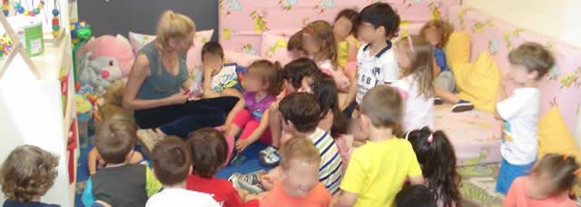 Το ΜΑΜΑ ΠΟΝΑΩ  στον Παιδικό Σταθμό  «ΠΑΙΔΙΚΑ ΟΝΕΙΡΑ», στη Γλυφάδα.