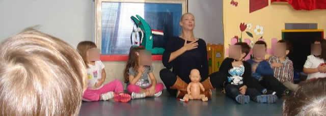 Το ΜΑΜΑ ΠΟΝΑΩ στον παιδικό σταθμό «Η μικρή Χρυσαλλίδα»